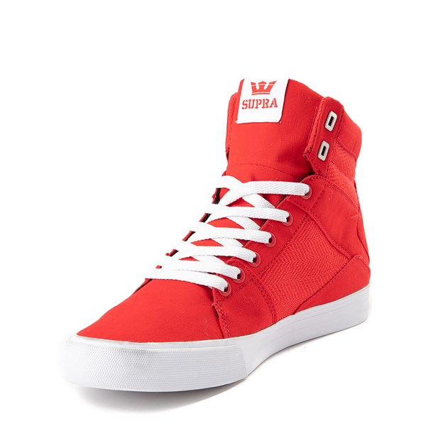 alternate view Mens Supra Aluminum Hi Skate ShoeALT3