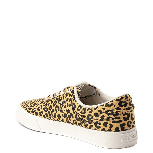 alternate view Mens Supra Cobalt Skate Shoe - LeopardALT2