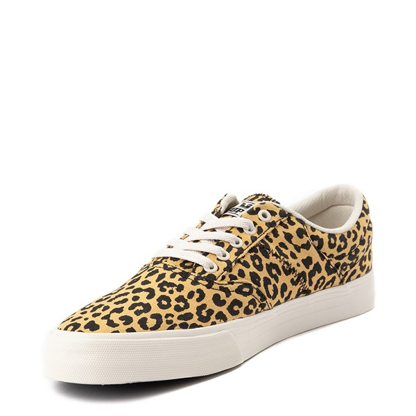 alternate view Mens Supra Cobalt Skate Shoe - LeopardALT3