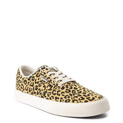 Alternate view of Mens Supra Cobalt Skate Shoe - Leopard