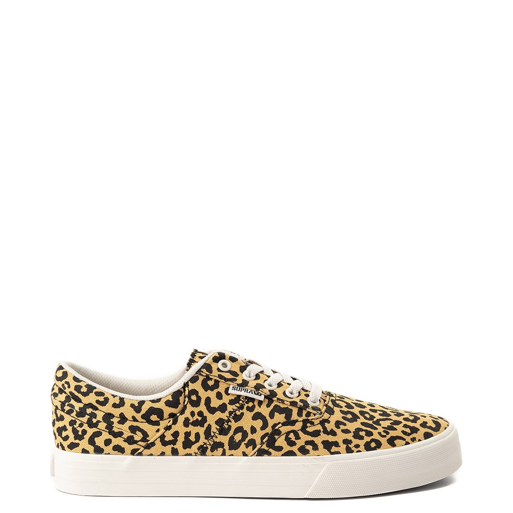 Mens Supra Cobalt Skate Shoe - Leopard