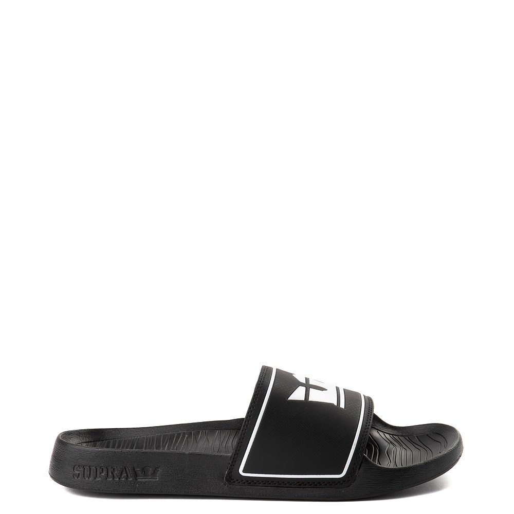 Mens Supra Lockup Slide Sandal