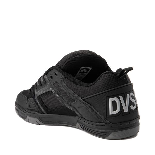 alternate view Mens DVS Comanche Skate Shoe - Black / CharcoalALT1