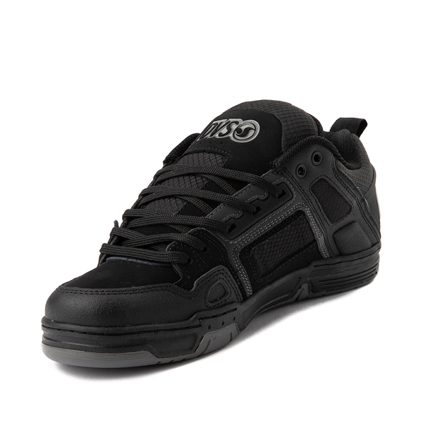 alternate view Mens DVS Comanche Skate Shoe - Black / CharcoalALT2
