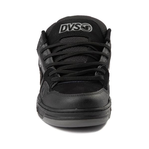 alternate view Mens DVS Comanche Skate Shoe - Black / CharcoalALT4