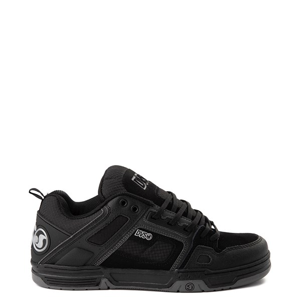 Main view of Mens DVS Comanche Skate Shoe - Black / Charcoal