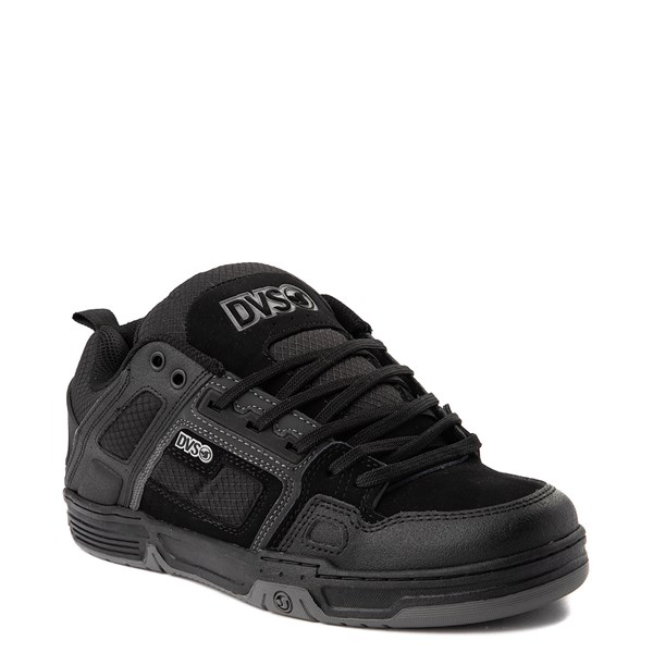 alternate view Mens DVS Comanche Skate Shoe - Black / CharcoalALT1