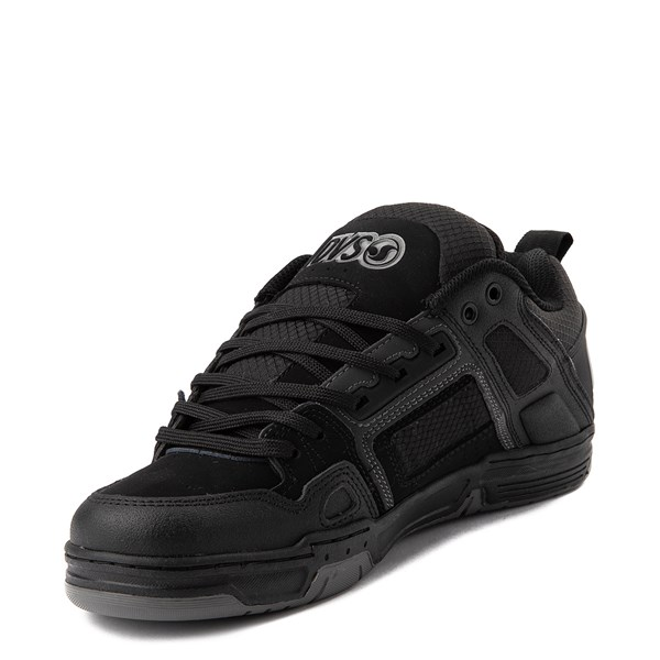 alternate view Mens DVS Comanche Skate Shoe - Black / CharcoalALT3