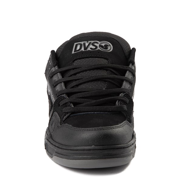 alternate view Mens DVS Comanche Skate Shoe - Black / CharcoalALT4