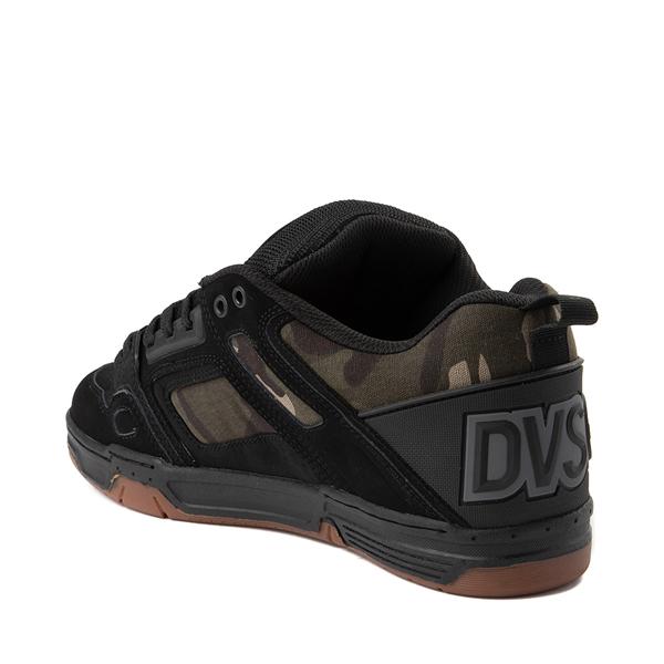 alternate view Mens DVS Comanche Skate Shoe - Black / CamoALT1