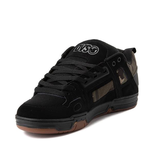 alternate view Mens DVS Comanche Skate Shoe - Black / CamoALT2