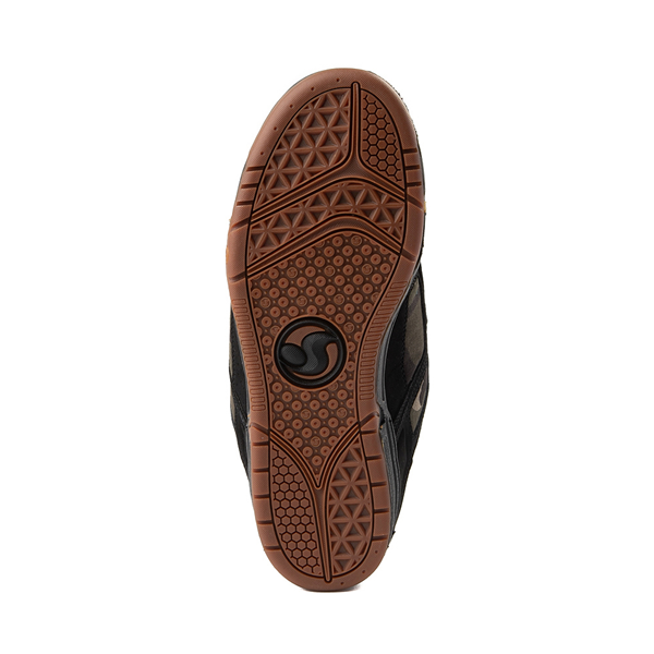 alternate view Mens DVS Comanche Skate Shoe - Black / CamoALT3