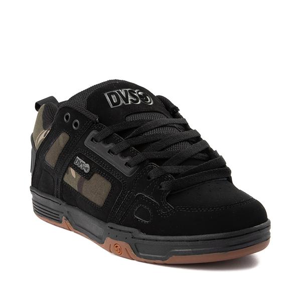 alternate view Mens DVS Comanche Skate Shoe - Black / CamoALT5