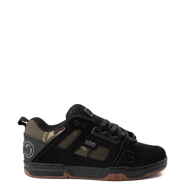 Main view of Mens DVS Comanche Skate Shoe - Black / Camo