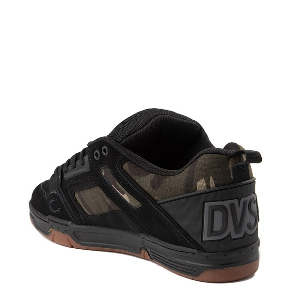 alternate view Mens DVS Comanche Skate Shoe - Black / CamoALT2