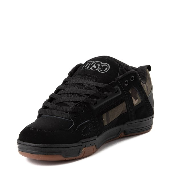 alternate view Mens DVS Comanche Skate Shoe - Black / CamoALT3