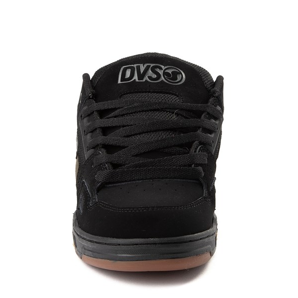 alternate view Mens DVS Comanche Skate Shoe - Black / CamoALT4