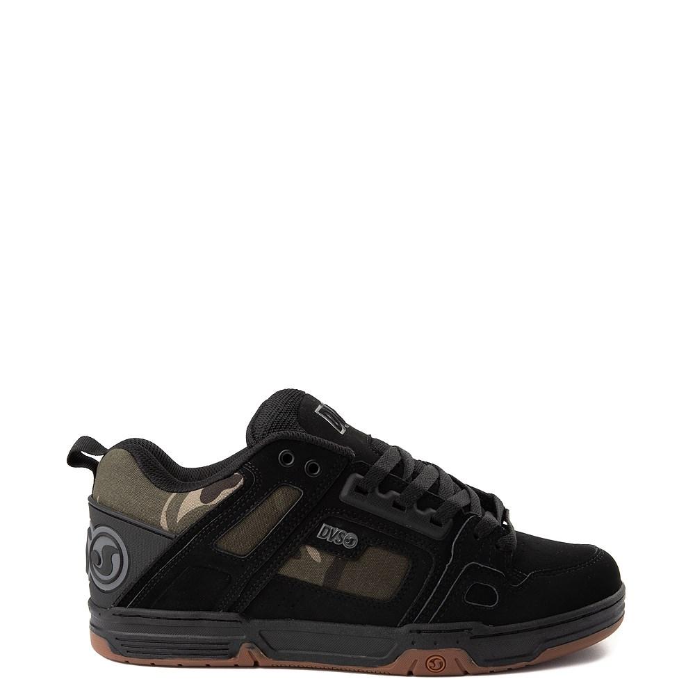Mens DVS Comanche Skate Shoe - Black / Camo