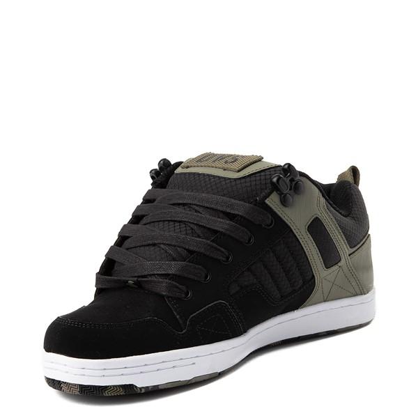 alternate view Mens DVS Enduro 125 Skate Shoe - Olive / BlackALT2