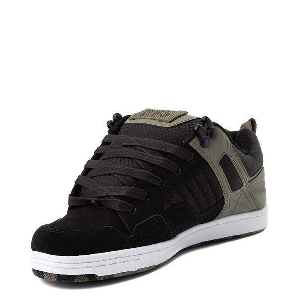 alternate view Mens DVS Enduro 125 Skate Shoe - Olive / BlackALT3