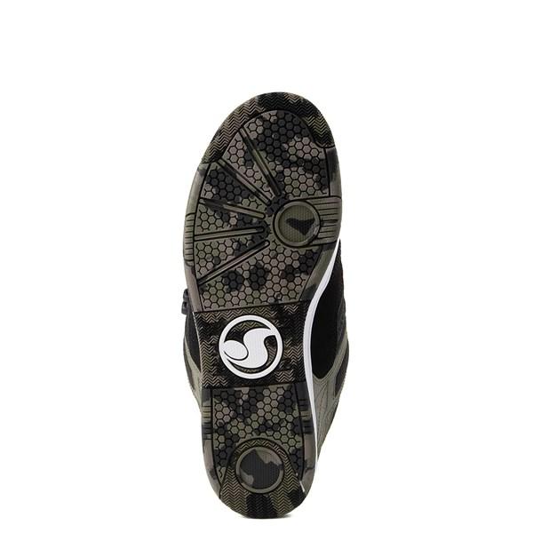 alternate view Mens DVS Enduro 125 Skate Shoe - Olive / BlackALT5