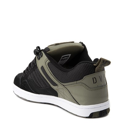 Alternate view of Mens DVS Enduro 125 Skate Shoe - Olive / Black