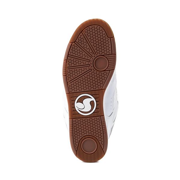 alternate view Mens DVS Enduro 125 Skate Shoe - WhiteALT3