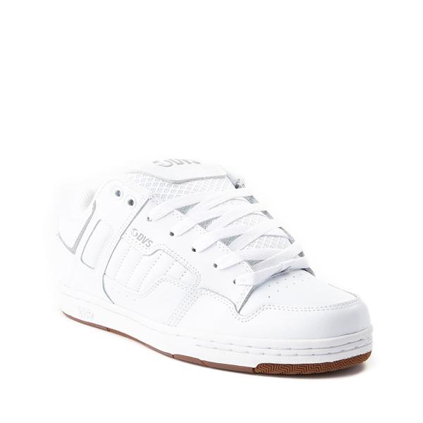 alternate view Mens DVS Enduro 125 Skate Shoe - WhiteALT5