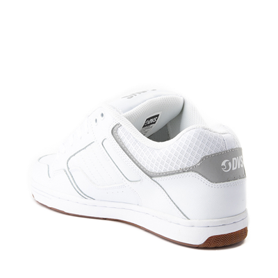 Alternate view of Mens DVS Enduro 125 Skate Shoe - White