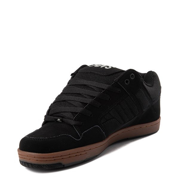 alternate view Mens DVS Enduro 125 Skate Shoe - Black / GumALT3