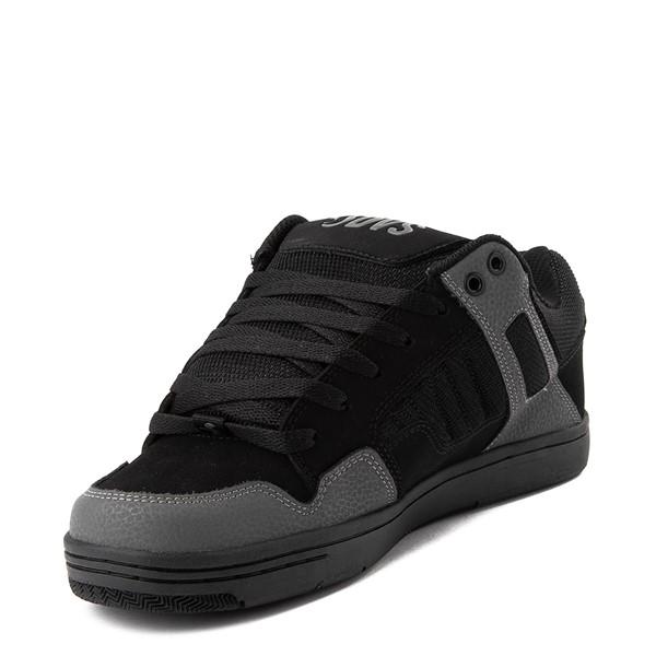 alternate view Mens DVS Enduro 125 Skate Shoe - Black / Gray / RedALT2