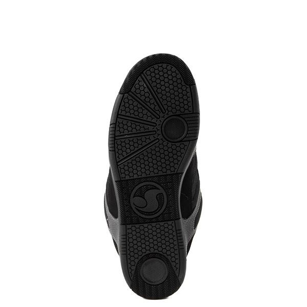 alternate view Mens DVS Enduro 125 Skate Shoe - Black / Gray / RedALT3