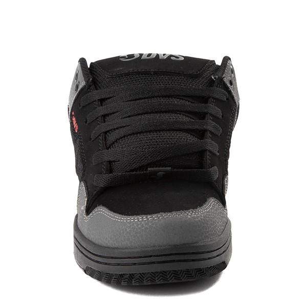 alternate view Mens DVS Enduro 125 Skate Shoe - Black / Gray / RedALT4