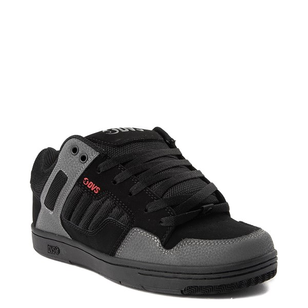 alternate view Mens DVS Enduro 125 Skate Shoe - Black / Gray / RedALT5