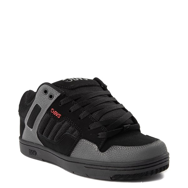 alternate view Mens DVS Enduro 125 Skate Shoe - Black / Gray / RedALT1