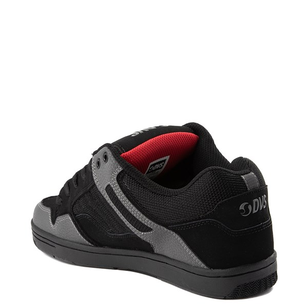 alternate view Mens DVS Enduro 125 Skate Shoe - Black / Gray / RedALT2