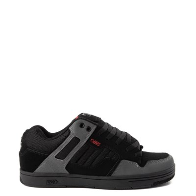 Main view of Mens DVS Enduro 125 Skate Shoe - Black / Gray / Red