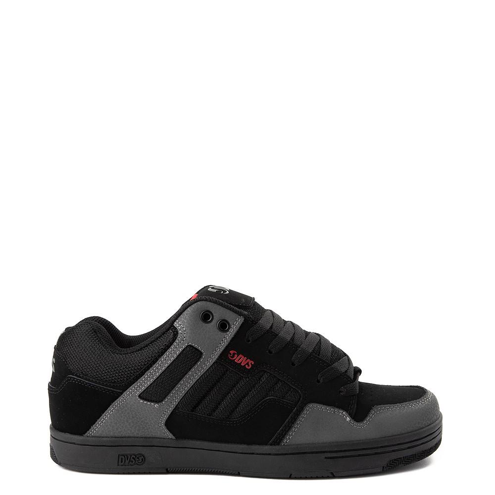 Mens DVS Enduro 125 Skate Shoe - Black / Gray / Red