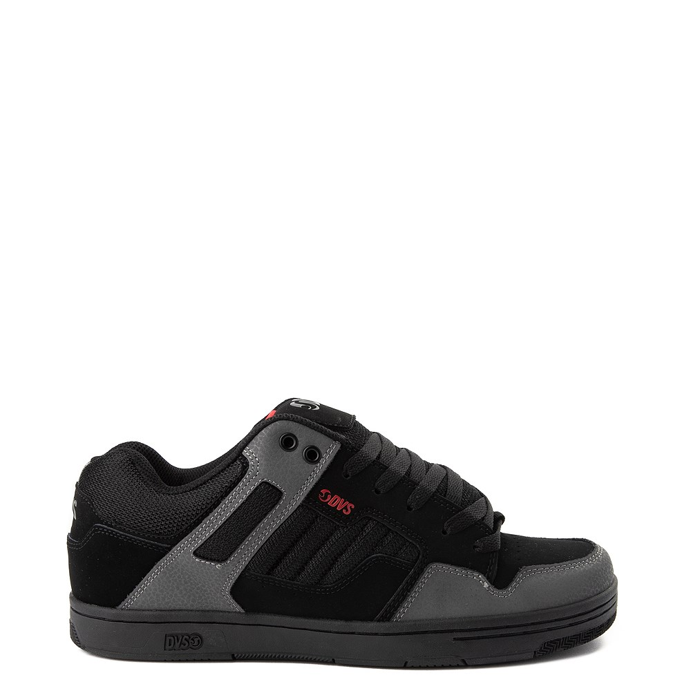 Mens DVS Enduro 125 Skate Shoe - Black / Gray / Red