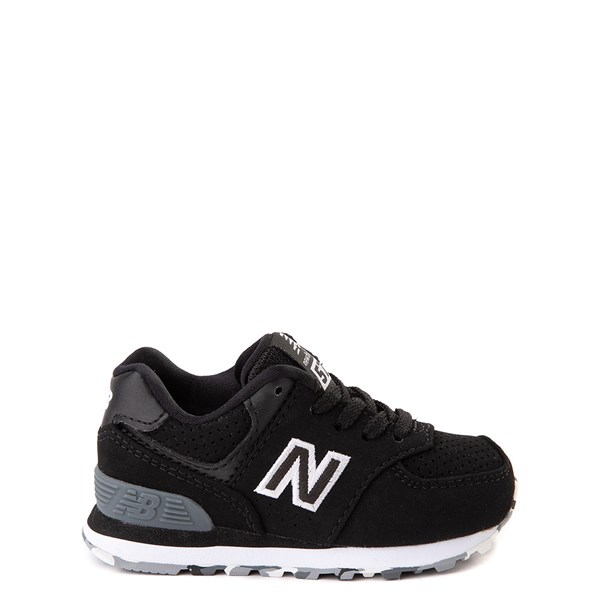 New Balance 574 Athletic Shoe - Baby / Toddler - Black / White