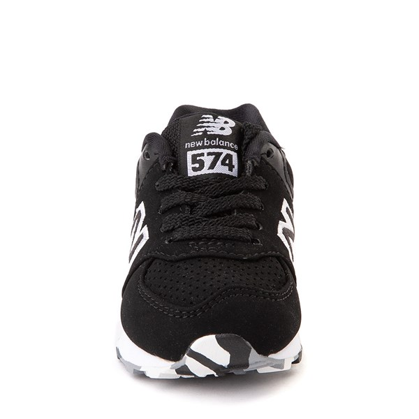 alternate view New Balance 574 Athletic Shoe - Baby / Toddler - Black / WhiteALT4