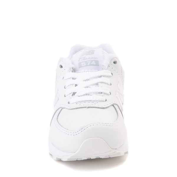alternate view New Balance 574 Athletic Shoe - Baby / Toddler - WhiteALT4