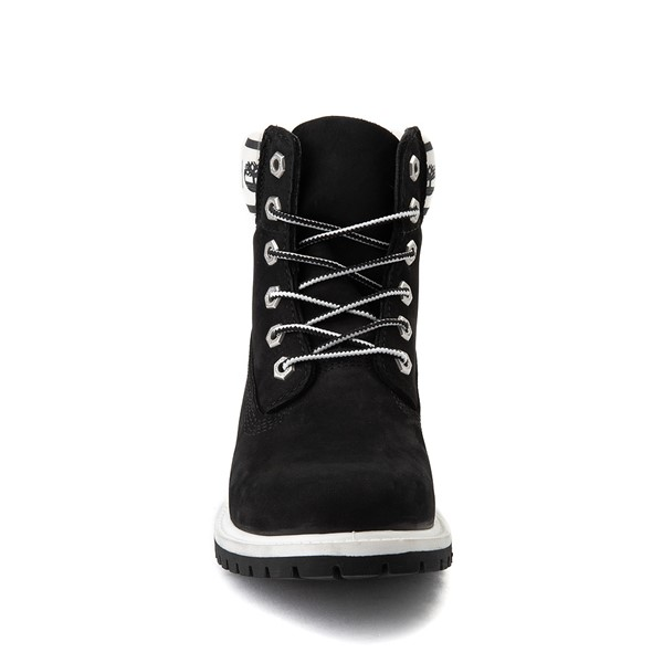 "alternate view Womens Timberland 6"" Premium Boot - Black / WhiteALT4"