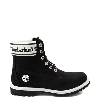 "Main view of Womens Timberland 6"" Premium Boot - Black / White"
