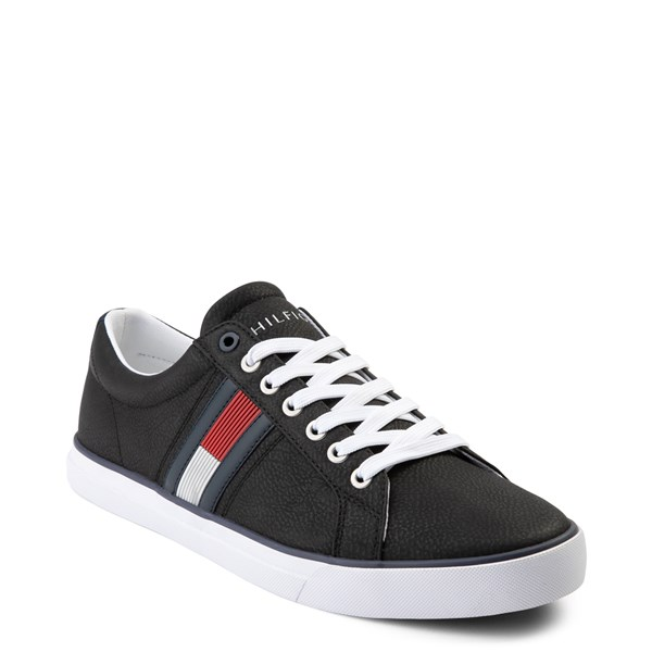 alternate view Mens Tommy Hilfiger Revel Casual Shoe - BlackALT1