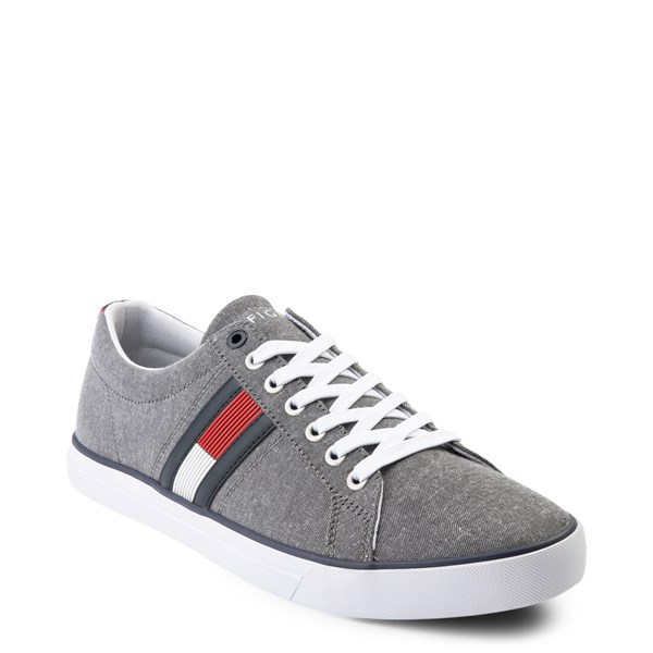 alternate view Mens Tommy Hilfiger Revel Casual Shoe - GrayALT1
