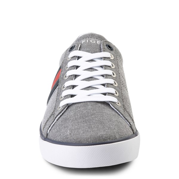 alternate view Mens Tommy Hilfiger Revel Casual Shoe - GrayALT4