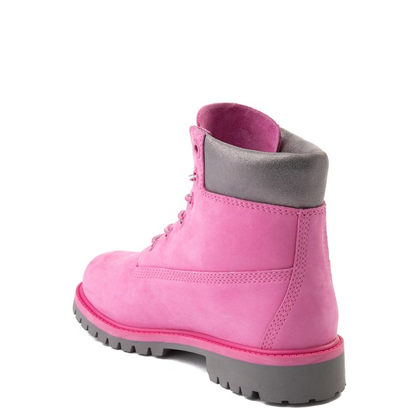 "alternate view Timberland 6"" Classic Boot - Big Kid - Ibis Rose / GrayALT2"