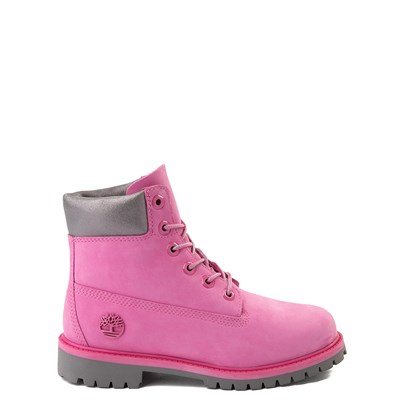 "Main view of Timberland 6"" Classic Boot - Big Kid - Ibis Rose / Gray"
