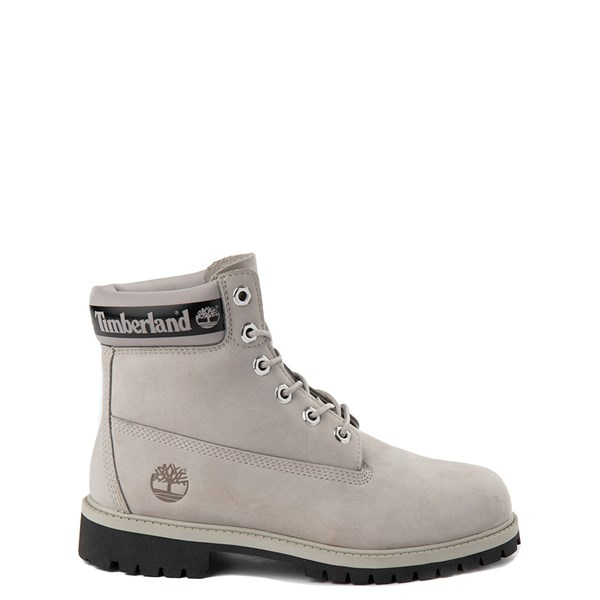 "Default view of Timberland 6"" Classic Boot - Big Kid - Flint Gray"